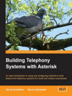 Building Telephony Systems With Asterisk: An easy introduction to using and configuring Asterisk to build feature-rich telephony systems for small and medium businesses