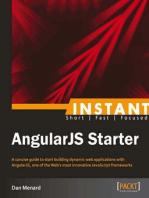 Instant AngularJS Starter