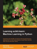 Learning scikit-learn