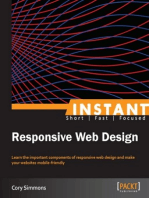Read Responsive Web Design With Html5 And Css3 Online By Ben Frain Books