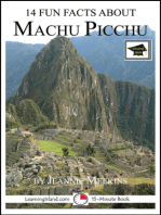 14 Fun Facts About Machu Picchu