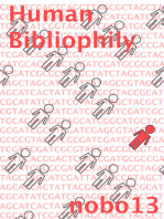 Human Bibliophily