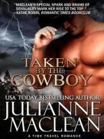 Taken by the Cowboy (A Western Time Travel Romance)