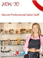 Salon Marketing How To Recruit Professional Staff