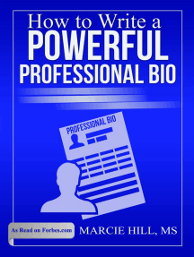 How to Write a Powerful Professional Bio