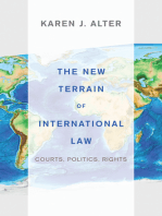 The New Terrain of International Law