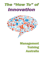 """The """"How to"""" of Innovation"""