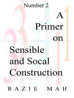 A Primer on Sensible and Social Construction