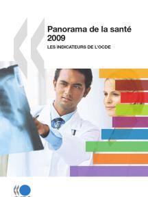 Panorama de la santé 2009: Les indicateurs de l'OCDE