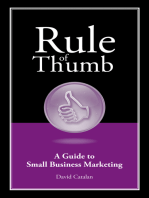 Rule of Thumb: A Guide to Small Business Marketing