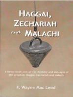 Haggai, Zechariah and Malachi