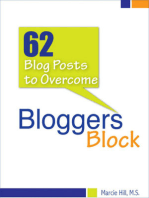 62 Blog Posts to Overcome Blogger's Block