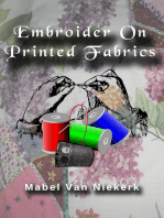 Embroider On Printed Fabrics