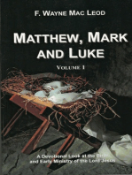 Matthew, Mark and Luke (Volume 1)