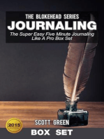 Journaling:The Super Easy Five Minute Journaling Like A Pro Box Set