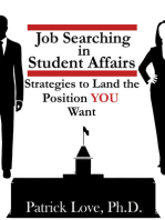 Job Searching in Student Affairs