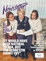 Nshei Chabad Newsletter: Shvat - February Edition - 5775 / 2015
