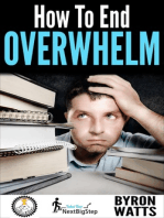 How to End Overwhelm