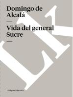 Vida del general Sucre