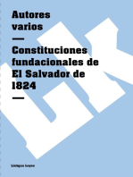Constituciones fundacionales de El Salvador de 1824