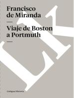 Viaje de Boston a Portmuth