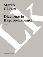 Diccionario Bagobo-Español