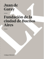Fundación de la ciudad de Buenos Aires por Juan de Garay
