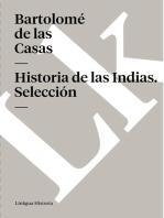 Historia de las Indias. Selección