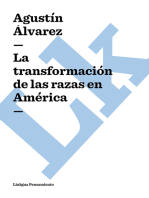 transformación de las razas en América