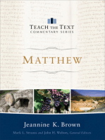 Matthew (Teach the Text Commentary Series)
