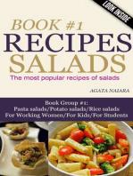 #1 SALADS RECIPES - The most popular recipes of salads (Books #1