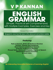 English Grammar: (Simple, Practical yet Comprehensive)