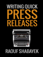 Writing Quick Press Releases