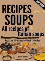 RECIPES SOUPS - All recipes of Italian soups