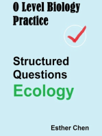 O Level Biology Practice For Structured Questions Ecology