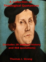 A Collection of Theological Quotations