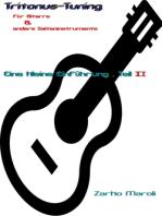 Tritonus-Tuning für Gitarre & andere Saiteninstrumente