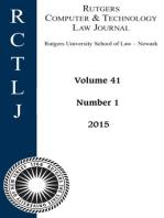 Rutgers Computer & Technology Law Journal