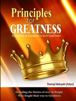 Principles for Greatness