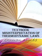 Textbook Misinterpretation Of Thermodynamic Laws