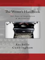 The Writer's Handbook; 365 Days of Inspiration & Motivation