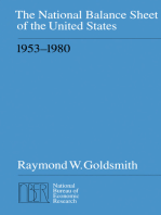 The National Balance Sheet of the United States, 1953-1980
