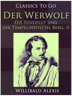 Der Werwolf - Die Sündflut und der Tempelhoffsche Berg. II.