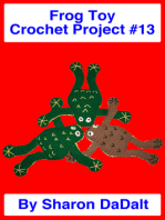 Frog Toy Crochet Project #13