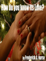 How Do You Know It's Love