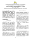 Study on Status of Supply Chain Management in India