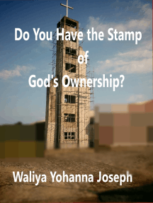 Do You Have the Stamp of God's Ownership?