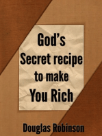 God's Secret Recipe to Make You Rich