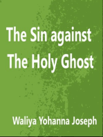 The Sin Against The Holy Ghost