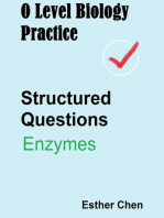 O Level Biology Practice For Structured Questions Enzymes